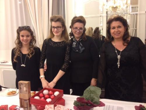 Chloé, Anastassia, Despina et Nicole
